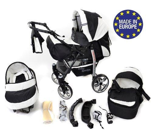 baby sportive landau pour bb avec roues pivotables