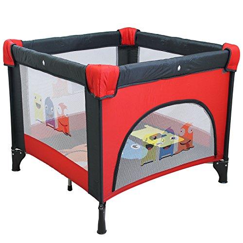 achat monsieur b b parc pliable 90cm x 90cm avec matelas sac de transport. Black Bedroom Furniture Sets. Home Design Ideas
