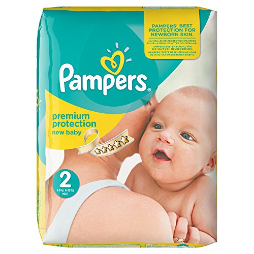 Achat pampers new baby mini couches pack economique 1 mois de consommation - Couche pampers new baby taille 2 ...