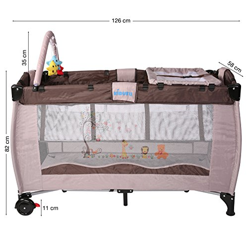 achat kiduku lit b b parapluie lit pliant pour enfant lit de voyage lit. Black Bedroom Furniture Sets. Home Design Ideas