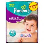 Pampers-Active-Fit-Couches-Pack-Economique-1-Mois-de-Consommation-x-168-Couches-Taille-4-7-18-kg-0