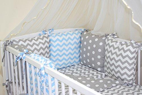 achat parure de lit b b ensemble de 10 pi ces avec tour. Black Bedroom Furniture Sets. Home Design Ideas