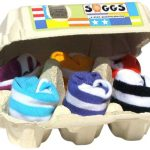Soggs-Chaussettes-Bb-dans-Bote--OEufs-Rayures-0