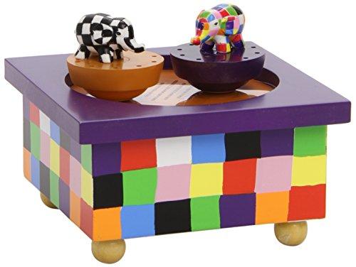 achat trousselier boite musique bois elmer. Black Bedroom Furniture Sets. Home Design Ideas