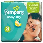 Pampers-Baby-Dry-Couches-Taille-3-Midi-4-9-kg-Pack-conomique-1-mois-de-consommation-x198-couches-0
