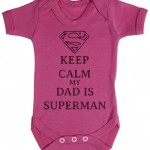 TRS-Calm-Dad-Is-Superman-Baby-Bodysuit-Babygrow-0-3-Mois-Rose-0