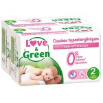 Love-Green-Couches-Bb-Hypoallergniques-0-Taille-2-3-6-kg-Lot-de-2-x-36-couches-72-couches-0