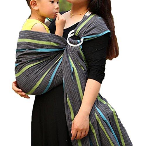 Achat Vlokup Echarpes de portage Porteurs de bébé Ring Sling Grey ... eb8ac1d6382