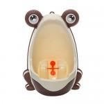 Hosaire-1X-Amusant-Pot-Enfant-Bb-urinoir-en-forme-de-Grenouille-VertOrangeBrun-0