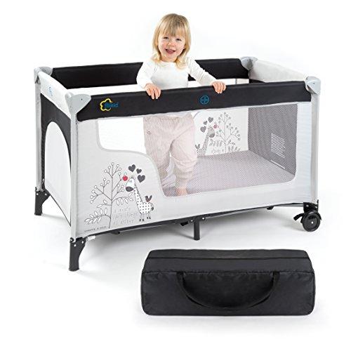 achat lit parapluie lit de voyage pour b b et enfant taille 120 x 60 cm. Black Bedroom Furniture Sets. Home Design Ideas