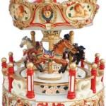 OULII-Mange-en-bois-carrousel-liquidation-bote--musique-enfants-Nol-anniversaire-GiftWhite-0