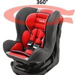 Mycarsit-Sige-Auto-360-Groupe-0-1-de-0--18-kg-Carmin-0