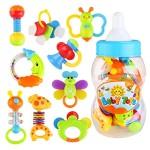 NUOLUX-Tambourin-Instruments-de-musique-jouet-musical-pour-Bb-9-pices-couleur-alatoire-0