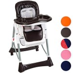 TecTake-Confort-Chaise-Haute-de-Bb-Pliable-diverses-couleurs-au-choix-Marron-0