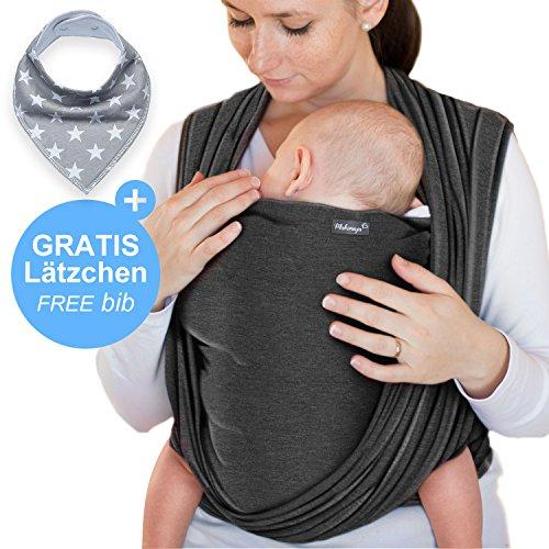 Achat Écharpe de portage gris foncé – porte-bébé de haute qualité b84f48c1888