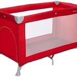 MON-BEBE-Lit-parapluie-ultra-lger-pliable-avec-sac-de-transport-Ribbon-Red-0