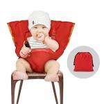 YOHOOLYO-Chaise-Haute-Portable-Bb-Chaise-Nomade-pour-Scurit-Chaise-et-Alimentation-bb-Facilement-Dehors-Rose-0