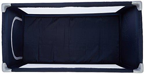 MON BEBE Lit parapluie b/éb/é ultra l/éger pliable avec sac de transport Navy Blue
