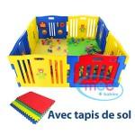 MCC-Parc-pour-bbs--8-cts-avec-panneau-dactivits-tapis-de-sol-0