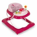 Hauck-Player-Trotteur-Bebe-Disney-de-6-Mois--12-kg-Marcheur-avec-Musique-Aide--la-Marche-avec-Centre-dveil-et-Roues-Assise-Rembourre-Amovible-Rglable-en-Hauteur-Minnie-Pink-Rose-0