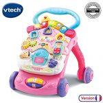 VTech-Super-Trotteur-Parlant-2-en-1-Rose-Trotteur-interactif-pour-apprendre--marcher-0